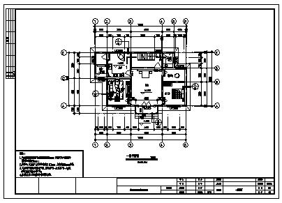住宅设计_三层砖混结构简欧风格住宅建筑施工cad图,含效果图-图一