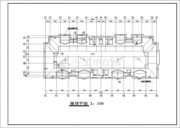 浙江省某公寓1#多层住宅楼bob电竞app及结构方案设计全套施工图纸(含施工总说明)-图一
