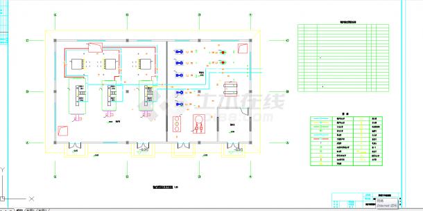 某地单层锅炉房暖通设计图纸-图二