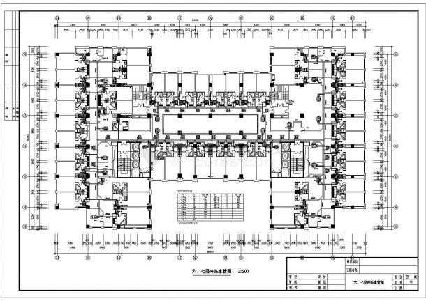 南京某豪华酒店中央空调设计cad图(含空调水系统原理图)-图二