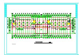 大型深基坑开挖施工cad现场平面布置图纸-图一