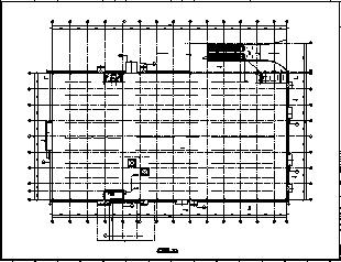 某生产厂房电气施工cad图(含照明,防雷,接地系统设计)-图一