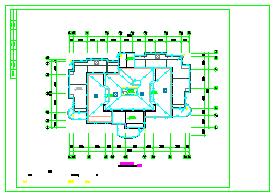 九层高层住宅楼电气设计图纸-图一