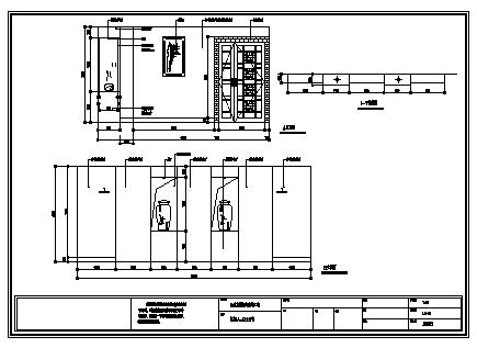 某茶楼洗浴中心室内装饰工程施工cad图_茶楼洗浴中心施工-图二