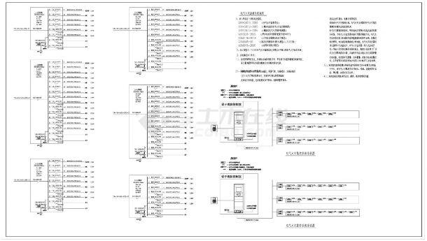某厂区一大型电子厂房电气设计(新火灾报警系统+水炮控制原理)电气全套图纸-图一