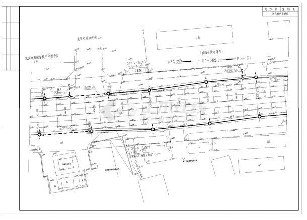 某地区完整道路照明电气设计全套施工图纸-图一