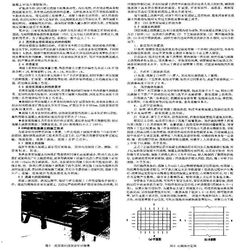 青岛万邦中心矩形钢管柱自密实混凝土施工技术-图二