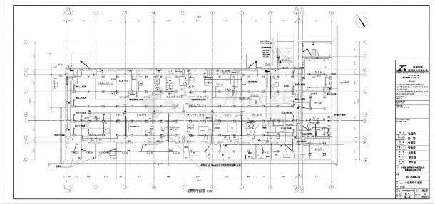 贵州省贵阳市经开区松花江路111号106厂房电气施工图-图二