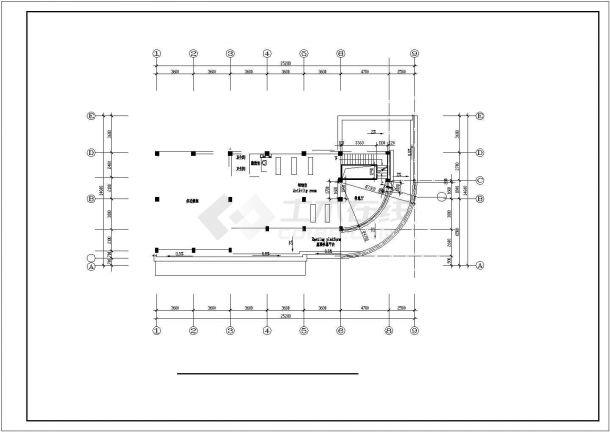 长沙市泉阳新村某3层欧式风格单体别墅全套建筑设计CAD图纸-图一