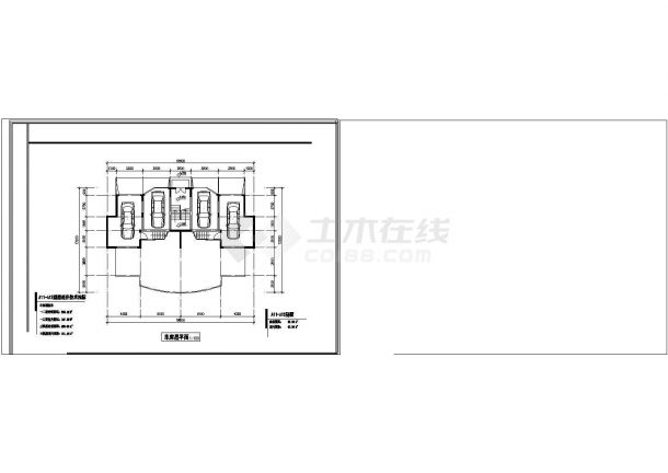 武汉市越秀新村某4层砖混结构单体别墅全套建筑设计CAD图纸-图一