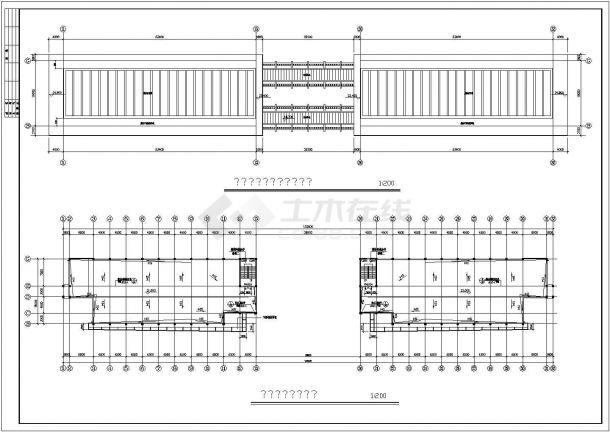南充市某中学框架结构教学楼建筑工程设计全套CAD图纸(含大样、节点图、设计说明)-图一