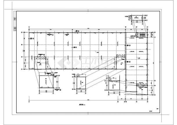 5层13501平米L形框架结构厂房建筑设计施工图-图二