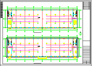 某厂房全套MDV设计cad施工设计图纸-图二