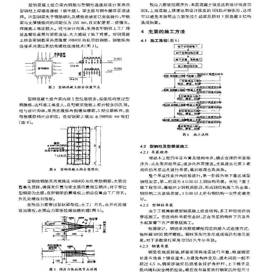 型钢混凝土与预应力结构综合施工技术-图二