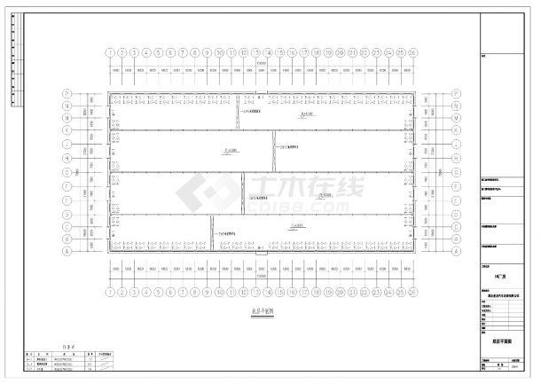 湖北省圣龙设计图CAD施工参考详图-图一