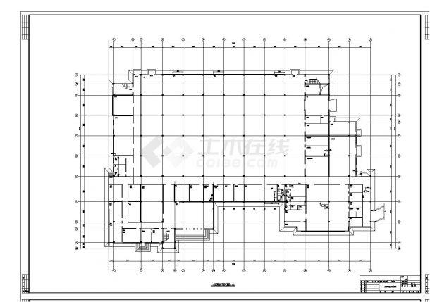 制剂车间暖通空调设计全套施工图-图一