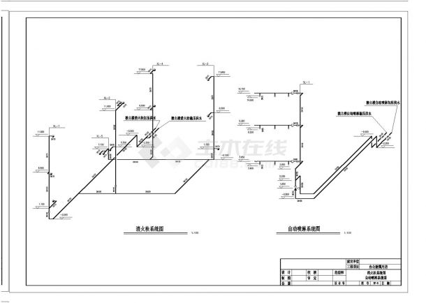 商业综合楼空调系统设计全套施工图(含给排水设计)-图二
