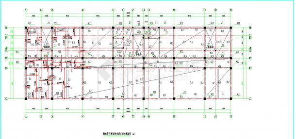 某地多层12880平米框架办公楼毕业设计(含计算书,部分建筑、结构图纸)-图二