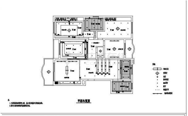 居装饰设计施工图案例设计图-图二