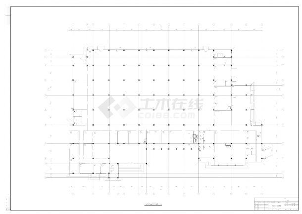 某市制剂车间暖通空调设计CAD施工图-图一