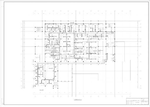 某市制剂车间暖通空调设计CAD施工图-图二