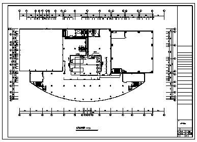 某市某地上四层带地下一层商场空调施工cad图(含空调系统设计)-图一