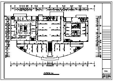 某市某地上四层带地下一层商场空调施工cad图(含空调系统设计)-图二