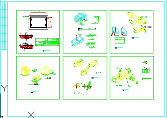 全套风管_风口_管件_阀门暖通安装节点CAD设计施工图-图二