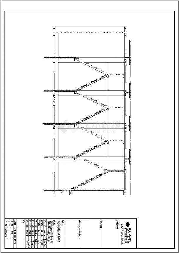 某管理用房粮油冷库结施设计方案CAD图纸-图一