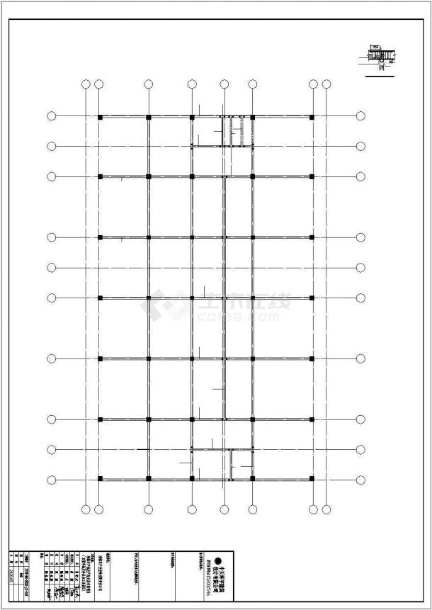 某农贸市场及干货加工交易设计方案CAD图纸-图二