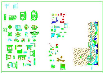 室内家装CAD制图常用素材设计大图库-图一