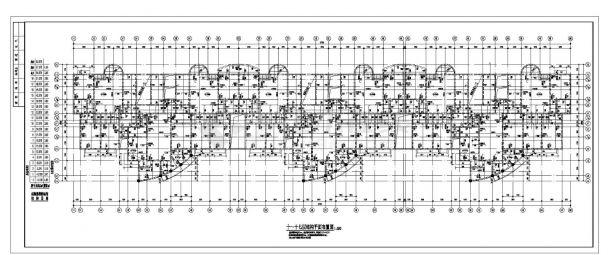某市高层楼纯剪力墙住宅楼结构施工图CAD详图-图一