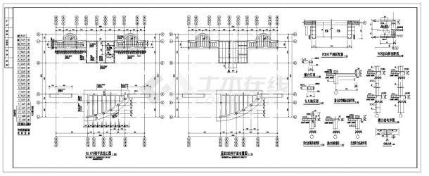 某市高层楼纯剪力墙住宅楼结构施工图CAD详图-图二