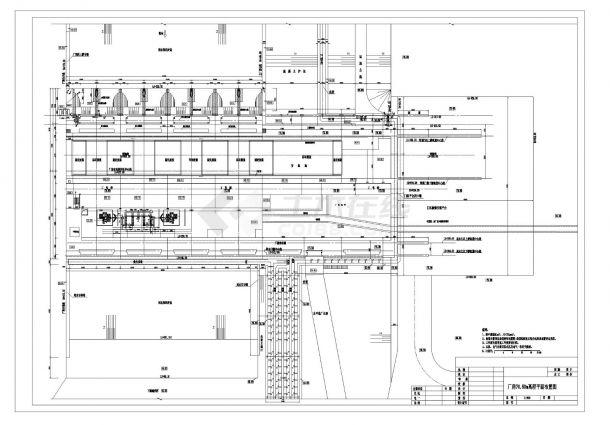 【湖南】航电枢纽工程厂房全套施工图(含效果图)-图一