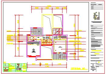 详细简单大方中式别墅CAD平面设计施工图纸-图二