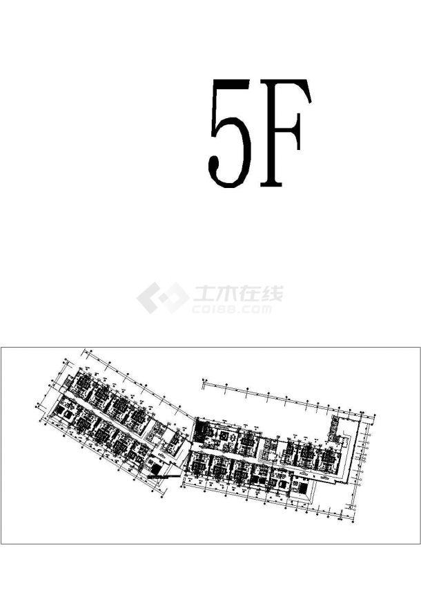 某精品公共建筑空調及通風系統設計施工圖(機電大院 空調配電圖多)-圖二
