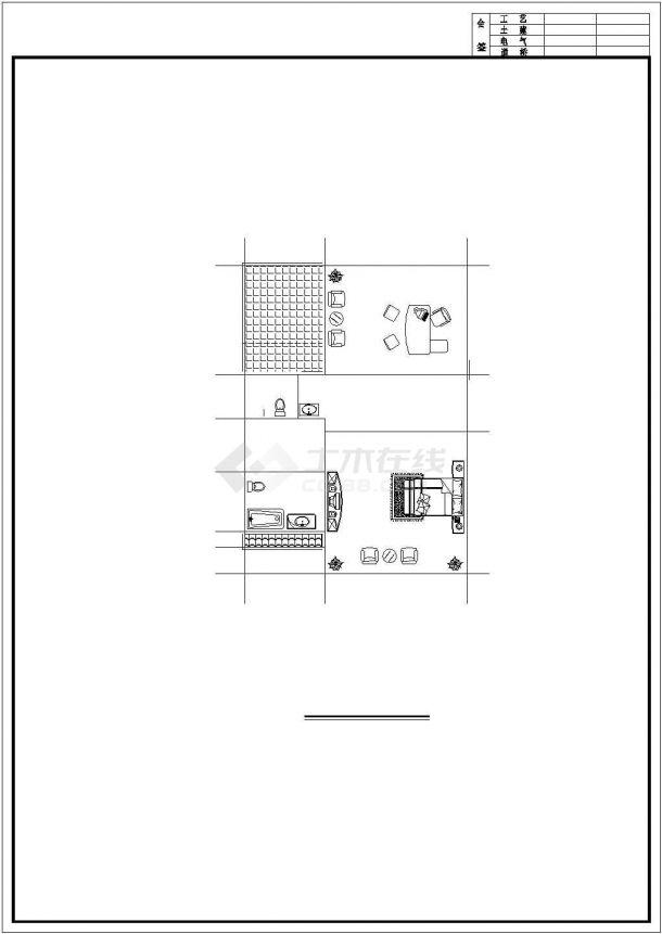 成都某村镇360平米3层砖混结构单体别墅平面设计CAD图纸(含效果图)-图一