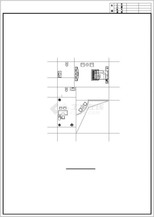 成都某村镇360平米3层砖混结构单体别墅平面设计CAD图纸(含效果图)-图二