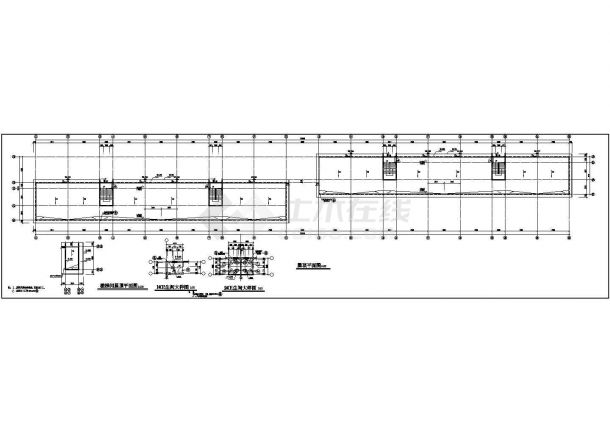 某地员工多层宿舍楼建筑设计图纸-图一