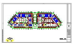 [施工图]海湖新区电力住宅小区电气设计图纸大全(含住宅部分与商铺部分)-图二