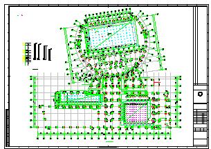 [施工图]连云港体育中心游泳馆电气设计全套图(体育工艺系统,含售检票、时钟、升旗、大屏幕显示、无线对讲等)-图二