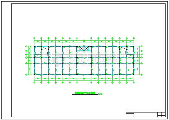 【6层】4400平方米沙河办公楼cad毕业设计(含计算书、计算表格、结构图、施组)-图二
