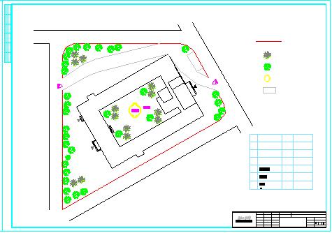 【6层】6549平某商业办公楼cad毕业设计(含计算书、施工组织设计、建筑结构设计图)-图二