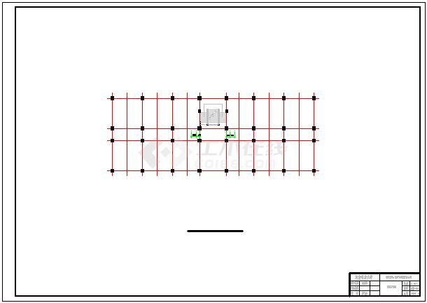 【7层】8500平米主体七层裙房六层框架办公楼cad毕业设计(含计算书、开题报告、建筑结构图、PKPM模型)-图一