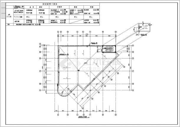 某高档小区精品住宅楼全套建筑设计方案cad图-图一