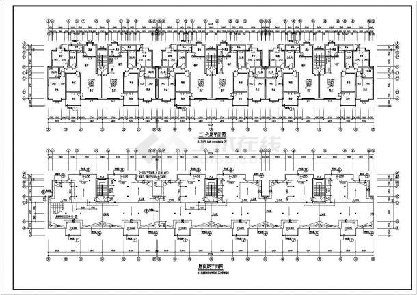 某市小型住宅楼建筑施工图纸-图二