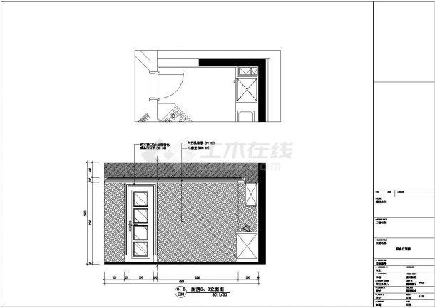 欧式风格多层别墅全套设计施工cad图(附效果图)-图二
