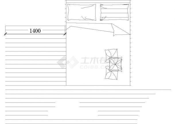 尚品木女士家具摆设楼全套施工设计cad图纸(含效果图)-图一