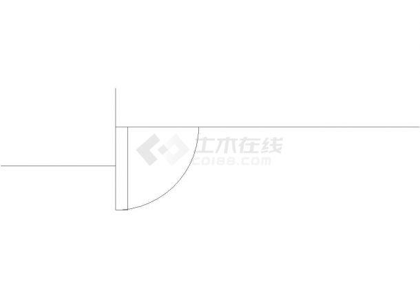尚品木女士家具摆设楼全套施工设计cad图纸(含效果图)-图二