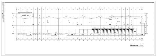 某商场给排水设计施工CAD图纸-图一